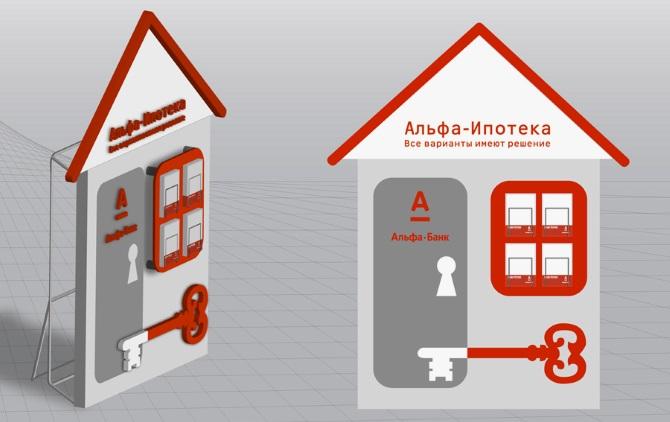 Оформление ипотеки в Альфа банке